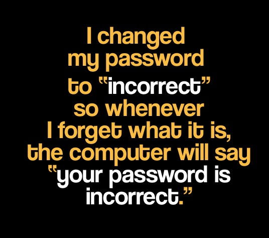 your-password-is